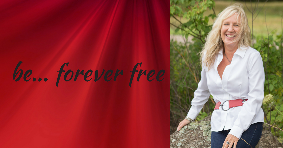 picture of liz porter - be forever free